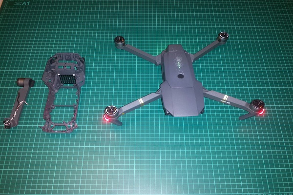 Mavic dji assistenza